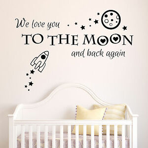 We-Love-You-Moon-Back-Kids-Baby-Room-Wall-Art-Stickers-Decal-Mural-Vinyl-2