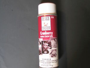 Cranberry Floral Color Spray Paint Fresh Dried Flowers Fabric Silk Shoes Foam Ebay