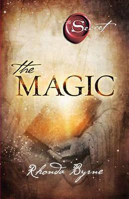 NEW, RHONDA BYRNE, THE SECRET, THE MAGIC. 9781849838399
