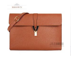 Style2030-NEW-KOREA-Womens-Oversized-Envelope-Purse-Clutch-Shoulder-Bags-B1075