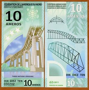 Federation-of-North-America-10-Ameros-2011-Polymer-New-UNC