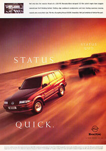 1997-Ssangyong-Musso-Classic-Advertisement-Ad-A60-B