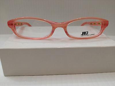 JLO JL212 EY4 PINK PLASTIC EYEGLASSES FRAME BY JENNIFER LOPEZ 51-17-135 NEW RX