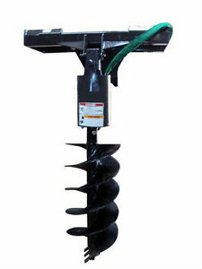 NEW-HD-EARTH-AUGER-DRIVE-ATTACHMENT-Skid-Steer-Loader-Post-Hole-Digger-Bobcat-nr