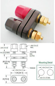 2x-Gold-Amplifier-Terminal-Binding-Post-Banana-Plug-Female-Jack-Aadapter-41x34mm