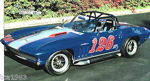 vintage-1965-CORVETTE-SCCA-BP-RACER-SPEC-SHEET-Brochure