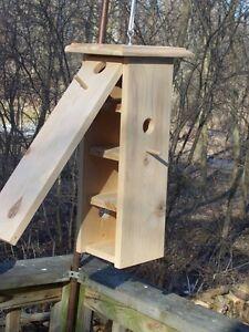 BirdhouseHandmadeFunctionalOutdoorsCedarWoodclean out