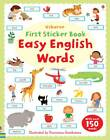 Easy English Words Sticker Book by Felicity Brooks (Paperback, 2012)