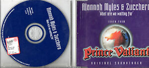 ALANNAH-MYLES-ZUCCHERO-CD-single-2-tracce-1997-made-in-ITALY-What-are-we-waiting