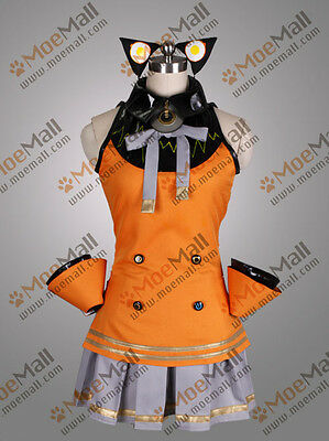 Vocaloid 3 SeeU Original Default Uniform Cosplay Costume