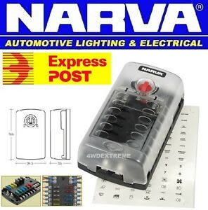 s l300 narva 54450 12 way fuse box suits ats standard blade fuse narva 12 way fuse box at eliteediting.co