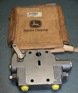 john deere hydraulic actuated valve at166472 ebay. Black Bedroom Furniture Sets. Home Design Ideas