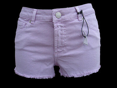 BRAND NEW WAREHOUSE LILAC DENIM HOTPANTS  SIZE 10 ONLY