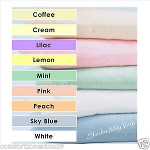 Cot Amp Cot Bed Plain Dye Bedding Fitted Flat Sheet Duvet