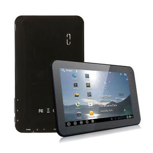 New-7-VIA8850-Capacitive-Android-4-0-Tablet-1-2GHz-512MB-4GB-Wifi-3G-Black