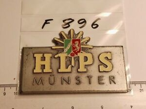 Medaille-Plakette-Hoehere-Landes-Polizeischule-NRW-Muenster-HLPS-F896