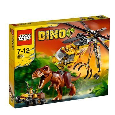 Lego dino t rex hunter 5886 for sale online ebay - Lego dinosaures ...