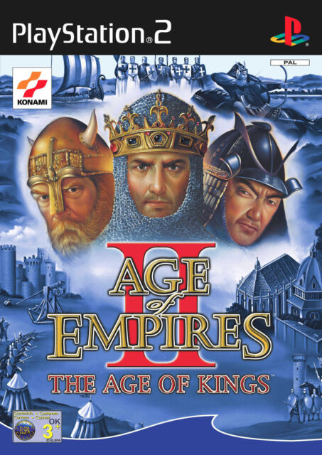 Age Of Empires II: The Age Of Kings (Sony PlayStation 2, 2001, DVD-Box)