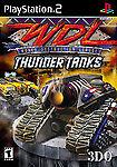 World Destruction League: Thunder Tanks (Sony PlayStation 2, 2001, DVD-Box)