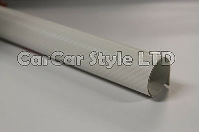 3D Carbon Fibre Vinyl 600mm(23.6in) x 1520mm(59.8in) Wrap Film Sticker AirFree