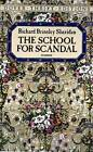 The School for Scandal by Richard Brinsley Sheridan (Paperback, 1991)