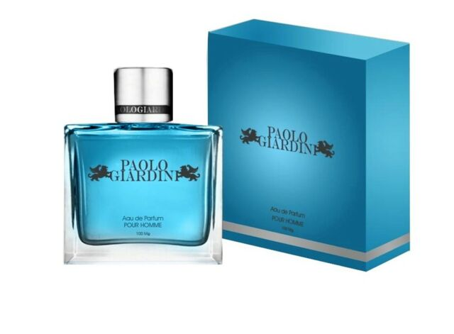 Paolo Giardini Mens Cologne Made In France 3.4 oz Vaporisateur Natural Spray