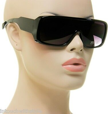 Men Sunglasses Sport Fashion Eyewear Turbo Flat Top Shield