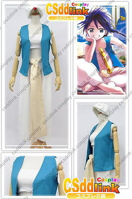 Magi The Labyrinth of Magic Aladdin Cosplay Costume csddlink outfit
