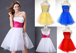 Mini-short-Bridal-Prom-Ball-Gown-Party-Evening-Cocktail-discount-Dress-In-Stock