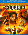 The Scorpion King 3: Battle for Redemption (Blu-ray/DVD, 2012, 2-Disc Set, Includes Digital Copy)