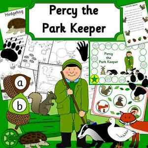 Percy-the-Park-Keeper-teaching-story-resource-EYFS-KS1-games-display-etc