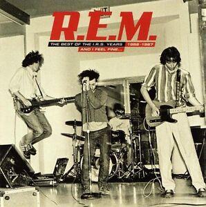 R-E-M-The-Best-Of-The-I-R-S-Years-1982-1987-And-I-Feel-Fine-CD-NEW-REM-IRS