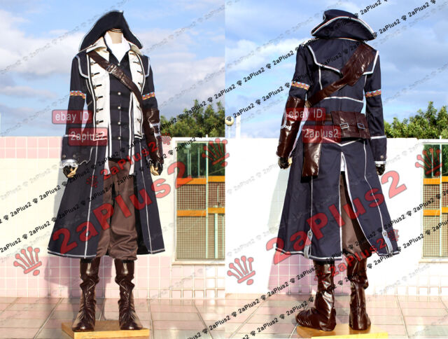 Connor Kenway Captain Aquila - Assassin AssassinCreed III AC 3 Cosplay Costume