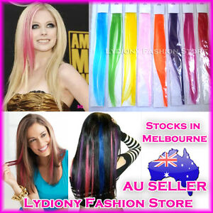 Party coloured clip in on hair extensions synthetic highlights image is loading party coloured clip in on hair extensions synthetic pmusecretfo Gallery
