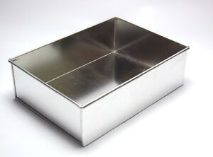 single rectangle cake tins in various sizes birthday and wedding ebay. Black Bedroom Furniture Sets. Home Design Ideas