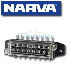 NARVA-8-WAY-BLADE-FUSE-BLOCK-BOX-HOLDER-CARAVAN-MARINE-BATTERY-12-VOLT-12V-54424