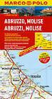 Italy - Abruzzo, Molise Marco Polo Map by Marco Polo (Sheet map, folded, 2013)