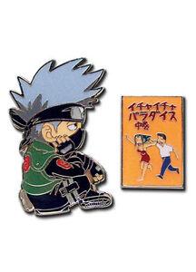 Pins-Set-NARUTO-NEW-Kakashi-and-Book-Set-of-2-Anime-Cosplay-Licensed-ge7491