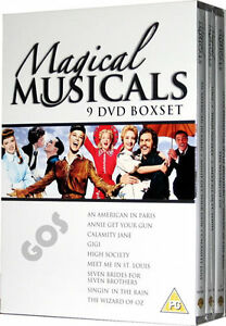 Musicals-Film-Collection-Boxset-9-DVD-Doris-Day-Llight-Corner-Damage-DVDs-OK