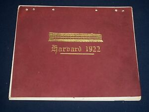 Harvard Calendar.1922 Harvard College Calendar Leather Great Campus Photos Ii