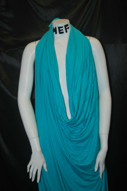 Bamboo Cotton Jersey Knit Fabric Eco-Friendly 8 oz High-End Turquoise Aqua