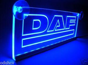 Details about 24V LED Cabin Interior Light Plate for DAF Truck Neon ...