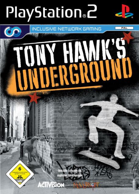 PS2 - Playstation 2 Tony Hawk's Underground (Sony) Spiel in OVP - Neuwertig