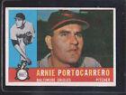 1960 Topps Arnie Portocarrero #254 Baseball Card