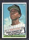 1976 Topps Willie Randolph #592 Baseball Card