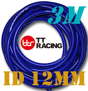 12mm-Silicone-Vacuum-Tube-Hose-Tubing-Radiator-Breather-Air-Pipe-3-meter-3M-10ft