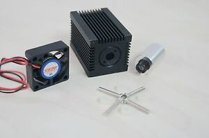 Laser-Module-Host-for-9mm-Laser-Diode-with-450nm-Glass-Lens