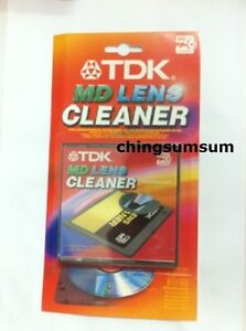 TDK-MD-Head-Lens-Cleaner-Cleaning-Clean-Mini-Disc-with-Sound-Check