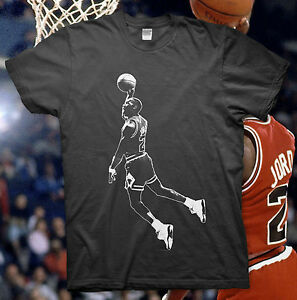 MICHAEL-JORDAN-High-Quality-Cotton-T-Shirt-NBA-BULLS-Slam-Dunk-23-ALL-STAR