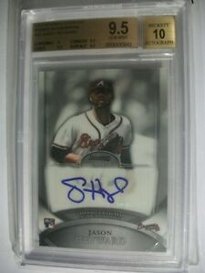 JASON-HEYWARD-2010-Bowman-Sterling-Rookie-Autographs-20-BGS-GEM-MINT-9-5-RC